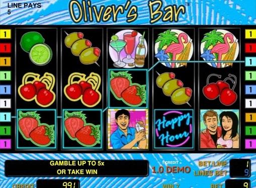 Виграш на лінії в Oliver's Bar